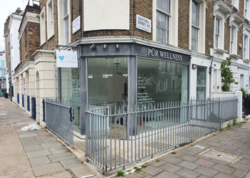 Prominent Shop & Basement for Sale or to Let, Arranged as beauty spa but suitable for other uses, 1 Courtnell Street, Notting Hill, London W2 | JMW Barnard Commercial Property Agents'; ?>