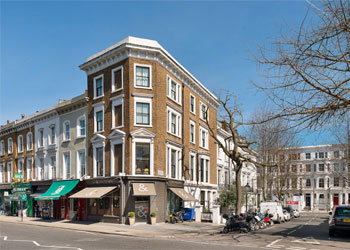 Prominent Shop & Basement, Offices & Residential Maisonette Freehold for Sale, 106 Kensington Church Street, Kensington, London, W8