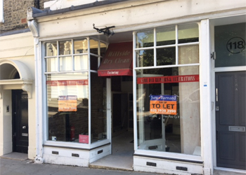 Prominent Shop to Let, 275 sq ft (25.55 sq m), 118 Kensington Park Road, Notting Hill, London, W11