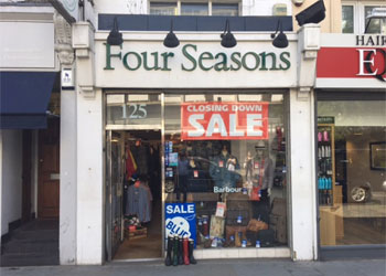 Prominent Shop to Let, 422 sq ft (39.2 sq m), 125 Notting Hill Gate, London W11