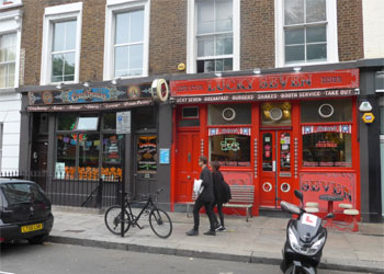 Fitted Double Restaurant Unit plus Maisonette to Let, 1,672 sq ft (155.5 sq m), 125-127 Westbourne Park Road, Notting Hill, London, W2