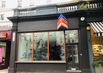 Prime Shop & Basement - New Lease Available, 1,508 sq ft, Ground floor and basement, 126 Holland Park Avenue, London, W11 | JMW Barnard Commercial Property Agents'; ?>