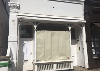 Shop and Basement A1/A2 use to Let, 275 sq ft (25.55 sq m), Ground floor & basement, 136a Lancaster Road, Notting Hill, London, W11