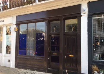 Shop & Basement Freehold for Sale, 230 sq ft sales 388 sq ft ancillary, 14 Needham Road, Notting Hill, London W11