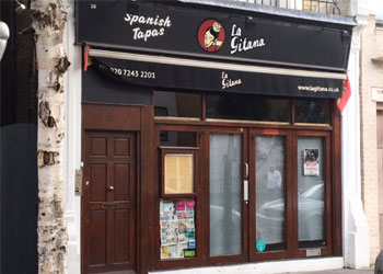 Licensed A3 Restaurant to Let / Rent, 1,249 sq ft (116 sq m), Ground floor & basement, 16 Garway Road, Bayswater, London W2