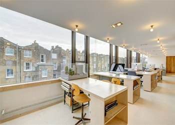 Superb Studio Office To Let / Rent, 705 sq ft (65.5 sq m), 17 Powis Mews, Notting Hill, London W11
