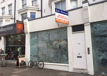 Prime retail unit to let, 823 sq ft (76.5 sq m), Ground floor, 178 Portobello Road, Notting Hill, London W11