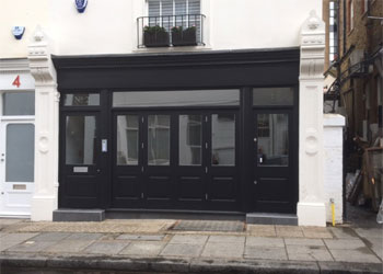 Retail/A3 Shop & Basement to Let, 560 sq ft (52 sq m), 2 Abingdon Road, Kensington, London W8
