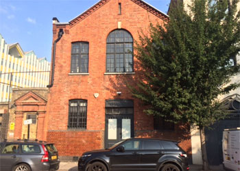 Ground floor Studio Offices To Let, 1,290 sq ft (119.9 sq m), Unit 1, The People's Hall, 2 Olaf Street, Notting Dale, London, W11