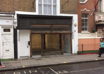 A1 Shop to Let / Rent, Ground floor sales 522 sq ft (48.5 sq m), Ground floor, 203 Portobello Road, Notting Hill, London W11