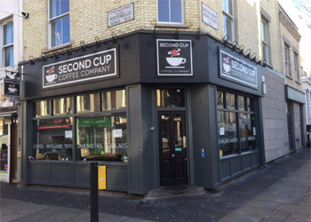 Fitted Coffee Shop to Let No Premium, Ground 675 sq ft, Trading Basement 685 sq ft, 216 Portobello Road, London, W11