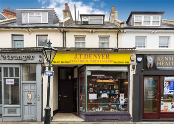 Freehold Shop & Residential Upper Parts for Sale, 2,344 sq ft (218 sq m), 3 Victoria Grove, Kensington, London, W8