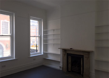 Bright office suite to let / rent, 366 sq ft (34 sq m), First floor, 31 Kensington Church Street, Kensington, London, W8
