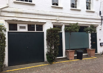 Air Conditioned Mews Offices with Parking To Let, 819 sq ft (76.1sq m), 33a Adam & Eve Mews, Kensington, London W8
