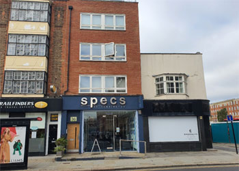 >Newly Built, Air Conditioned Office Suites to Let, 420 sq ft (39 sq m) and 360 sq ft (33.5 sq m), 36 Earls Court Road, Kensington, London, W8