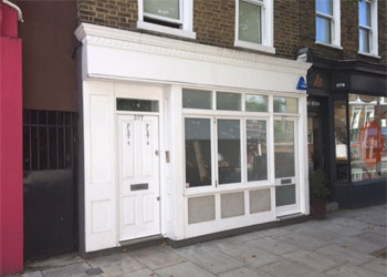 Shop / Office Unit to Let / Rent, 612 sq ft (57 sq m), Ground Floor, 377 King Street, Hammersmith, London W6