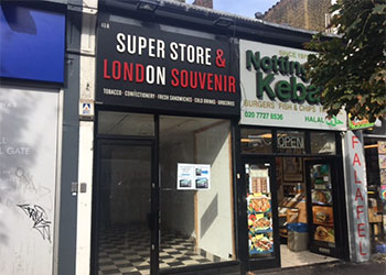 Shop, Basement & Upper Floor to Let - Short Term, GF Sales 251 sq ft Ancillary 896 sq ft, 40a Notting Hill Gate, London, W11