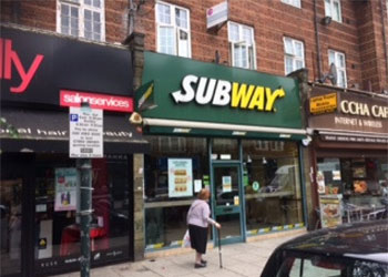 A1 Retail Shop to Let, 900 sq ft (92 sq m), Ground floor, 42 Golders Green Road, London NW11