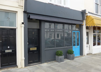 Shop and Basement to Let – A2 or A1 use, 743 sq ft (69 sq m), 5 Addison Avenue, Holland Park, London W11
