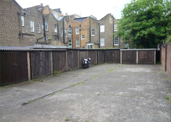 >Lock up garages to Let, Rear of 75 & 79 Clarendon Road, Holland Park/Notting Hill, London, W11