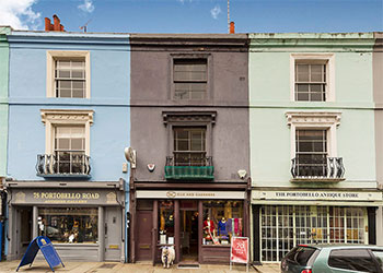 >Ground Floor Shop to Let, Portobello Market – Prime Antiques Section, 782 sq ft (73 sq m), Ground floor, 77 Portobello Road, London W11