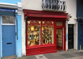 Shop to Let, No Premium, Prime Antiques Section | 746 sq ft (69.33 sq m), 85a Portobello Road, London, W11 | JMW Barnard Commercial Property Agents'; ?>