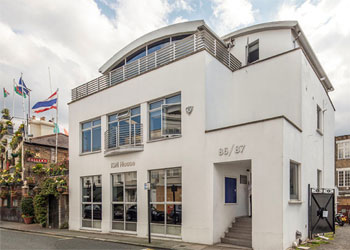 Air Conditioned, Open Plan Office Floor To Let, 1,141 sq ft (106 sq m), Ground floor, 86-87 Campden Street, Kensington, London, W8