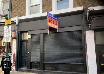 Freehold sale of Shop & Basement, 1,124 sq ft (104 sq m) GIA, 89 Golborne Road, London, W10