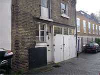Mews office / studio to let, 1 Kensington Park Mews, Notting Hill, London W11