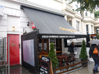 Virtual Freehold Café Investment for Sale, North Kensington, W10