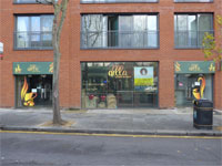 Shop to Let A1/A2, 1,246 sq ft 115.8 sq m), Ground Floor, 182-186 Kensington Church Street, Notting Hill Gate, London, W8