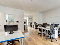 Bright Self-Contained Offices with Roof Terrace to Let, 795 sq ft (74 sq m), First & Second Floor, 233 Portobello Road, Notting Hill, London, W11