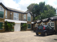 Courtyard Office Complex Arranged as Four Units With Parking, W12