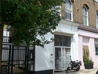 Showroom/Office to Let with storage, 663 sq ft (61.6 sq m), 32 Faraday Road, North Kensington, London, W10