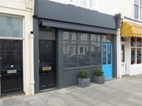 Shop & Basement to Let, A2 or A1 Use, 743 Sq ft (69 sq m), Ground Floor & Basement, 5 Addison Avenue, Holland Park, London, W11