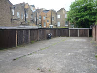 Lock up garages to Let, Rear of 75 & 79 Clarendon Road, Holland Park/Notting Hill, London, W11